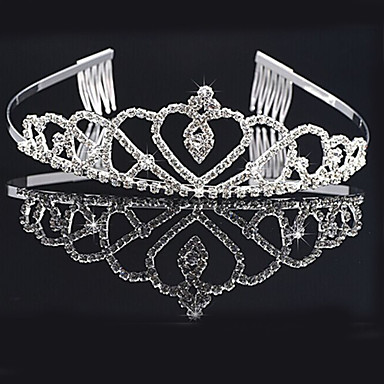 Alloy Tiaras Headwear with Floral 1pc Wedding Special Occasion Headpiece