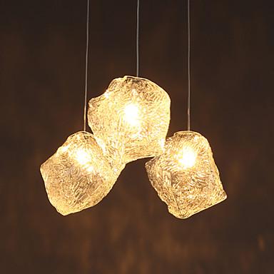 Mini Anheng Lys Nedlys Glass Glass LED Hvit Pære ikke Inkludert / G4