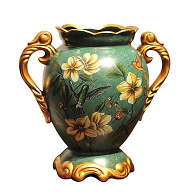 European ears ceramic vase simple modern  floral decoration room decoration wedding celebration