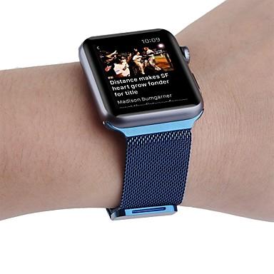Klokkerem til Apple Watch Series 3 / 2 / 1 Apple Håndleddsrem Milanesisk rem Rustfritt stål