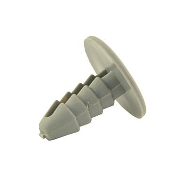 40PCS Auto Car 8mm Hole Gray Plastic Rivet Door Push in Clip
