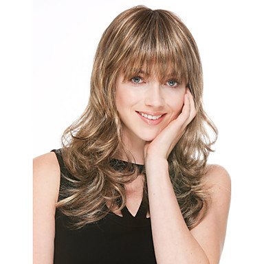 Synthetic Hair Wigs Curly Capless Long