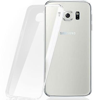 Mert Samsung Galaxy tok Átlátszó Case Hátlap Case Egyszínű TPU Samsung S7 edge / S7 / S6 edge plus / S6 edge / S6