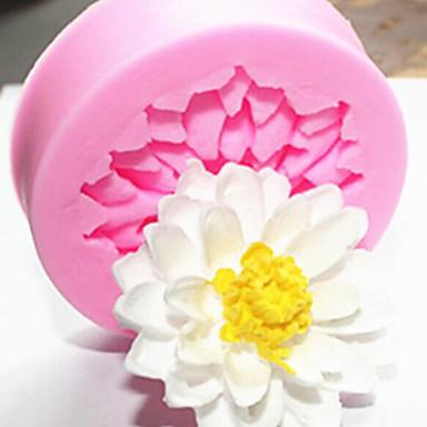 1kpl DIY Lotusflower kakku silikageeli muotti keittiö leivinjauhe