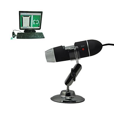 elektron mikroskobu taşınabilir dijital baskı algılama elektronik mikroskop 25-200 - x