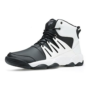Men's Walking Shoes Synthetic / Black / White