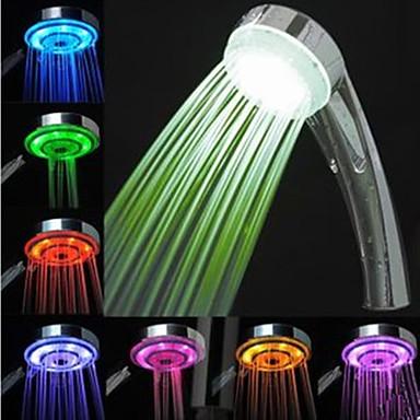 Torneira de Chuveiro - LED - Plástico ABS de Grau A (Pintura) - ESTILO Contemporâneo