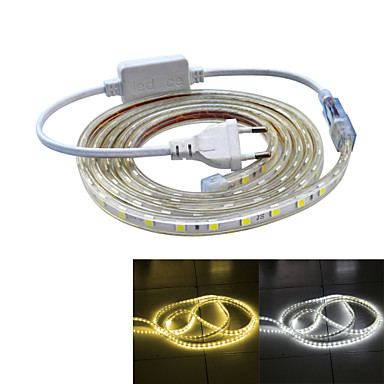 120 LEDs Warm White White Waterproof Suitable for Vehicles AC220 AC 220V V