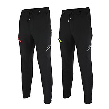 Arsuxeo Bisiklet Pantolonu Erkek Bisiklet Pantalonlar Alt Giyimler Tüylü Kumaş Bisiklet Elbiseleri Su Geçirmez Sıcak Tutma Rüzgar