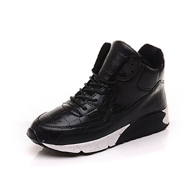 Women's Walking Shoes Synthetic Black / Red