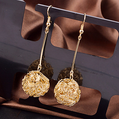 Women's Drop Earrings - Fashion, Elegant Silver / Golden For Wedding / Party / Special Occasion
