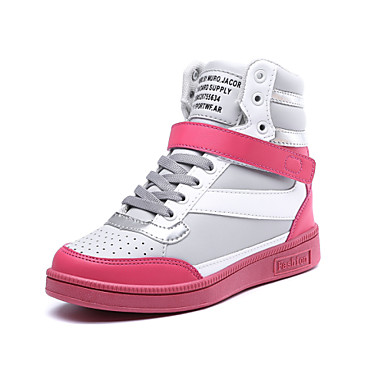 Women's Shoes Flat Heel Comfort / Novelty / Round Toe Fashion Sneakers Office & Career / Athletic / Dress / CasualBlack