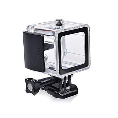 Glatt Ramme Beskyttende Etui Linse Kapsel Vanntett beholder Etui Etbensstativ Stativ Montert Vanntett Alt i en Praktiskt Til Action-kamera