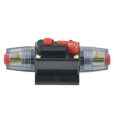 dc 12v 80a bil beskyttelse audio inline bryter sikring