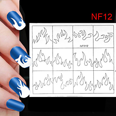 120PCS Different Sizes Professional Making Pattern Nail Art Tool