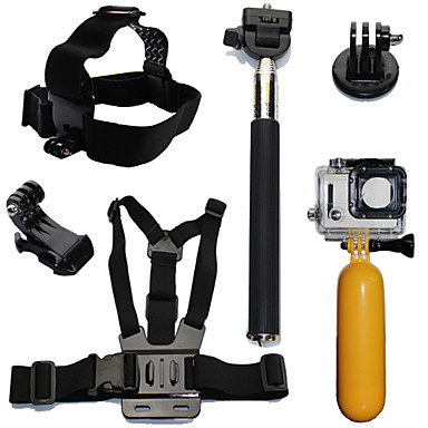 Aksesuar Kit Su Geçirmez / Suda Yatma İçin Aksiyon Kamerası Gopro 6 / Tüm Hareket Kamerası / Gopro 5 Dalış / Sörf / Kayakçılık Plastik /