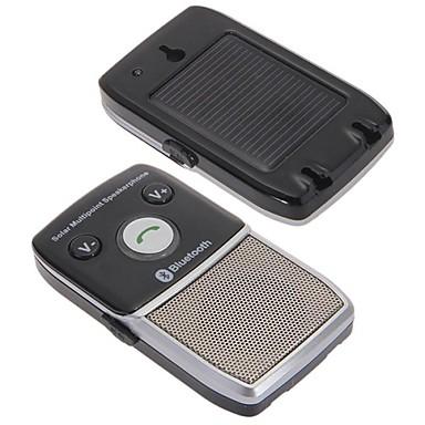 araba güneş cep telefonu için ücretsiz bluetooth 2.1 hoparlör hoparlör eller desteklenmektedir