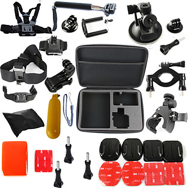 Accessory Kit For Gopro Waterproof / Floating For Action Camera Gopro 6 / All Gopro / Gopro 5 Diving / Surfing / Ski / Snowboard Plastic