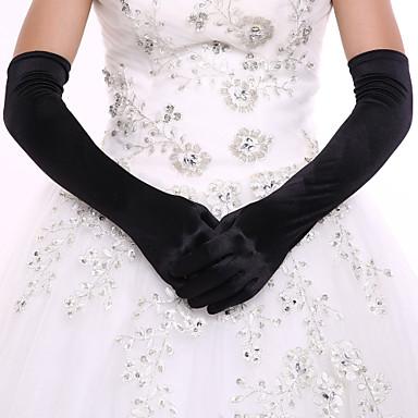 Spandex Do opery Rukavice Pro nevěstu Party rukavičky