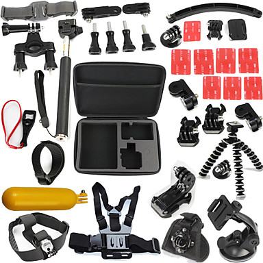 Case / Bags / Adhesive Mounts / Straps Waterproof / Floating For Action Camera Gopro 6 / All Gopro / Gopro 5 Surfing / Diving / Universal