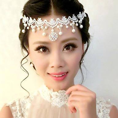 Κράμα Κεφαλές / Καλύμματα Κεφαλής με Φλοράλ 1pc Γάμου / Ειδική Περίσταση Headpiece