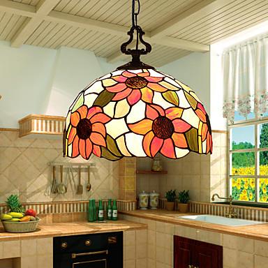 Modern/Çağdaş / Geleneksel/Klasik / Köy/Kırsal / Eski Tip / Retro / El Feneri LED Cam Avize LambalarOturma Odası / Yatakodası / Yemek