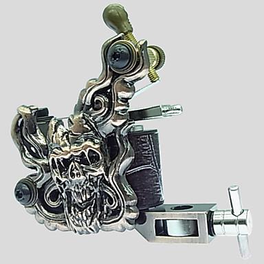 Tekercses tetoválógép Dombor (Empaistic) Kontúrozás és satírozás Ötvözet Professzionális tetováló gép