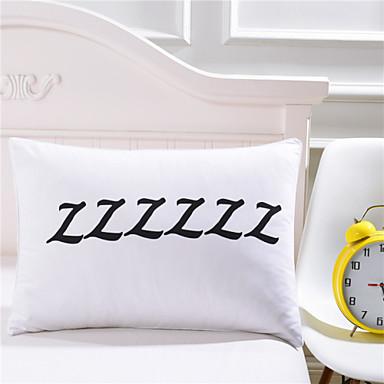 Comfortable 1pc Pillowcase, Cotton/Polyester Cotton/Polyester Printed 230TC Print