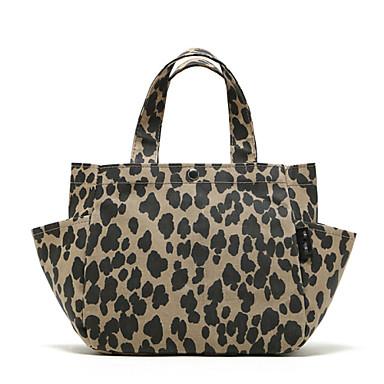 Kadın Çantalar PVC için Alışveriş Günlük Sonbahar Leopar
