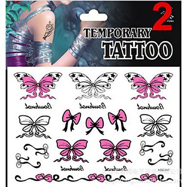 1 Glitter Non Toxic Pattern Lower Back Waterproof Christmas Jewelry Series Animal Series Flower Series Totem Series Others Tattoo Stickers