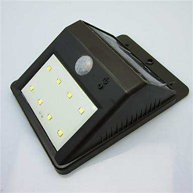 alta qualidade solar, à prova d'água 8 liderada lâmpada de luz ao ar livre varanda pátio lâmpada de indução corpo / lâmpada de parede /