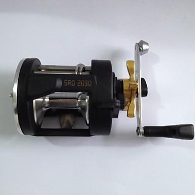 Trolling Reels Baitcasting Reels 3.8:1 Gear Ratio+3 Ball Bearings Right-handed Sea Fishing Trolling & Boat Fishing - SRO 2030AL