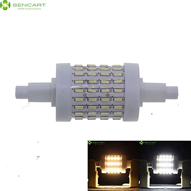 SENCART 7W 550-600 lm R7S LED Corn Lights Recessed Retrofit 72 leds SMD 4014 Dimmable Warm White Cold White AC 85-265V