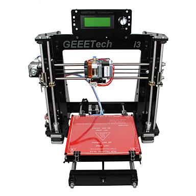 Geeetech Acrylic Mendel I3 3D Printer Support ABS/ PLA/Flexible PLA/ Wood /Nylon Free PLA 1.75mm Filament 0.3mm Nozzle