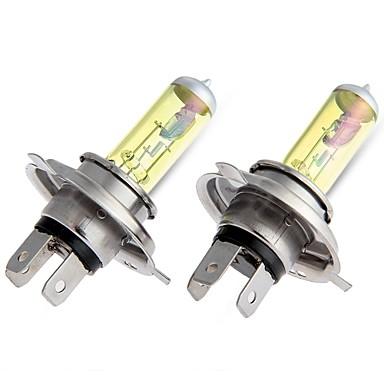 2x 55watt h4 xenon dourado escondeu halogênio nevoeiro lâmpada dc 12v