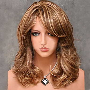 Fashion Models in Europe and America Must Long Hair Wig