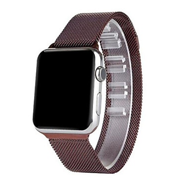 Klokkerem til Apple Watch Series 3 / 2 / 1 Apple Milanesisk rem Rustfritt stål Håndleddsrem