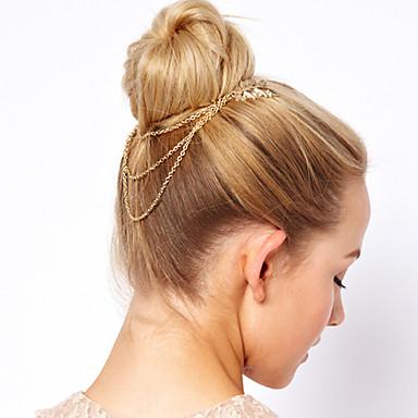 Dame Elegant Hair Claw - Blomst Legering / Hårklemmer / Hårklemmer