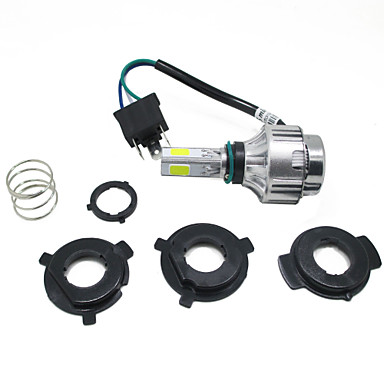 16-36V Mini LED Motorcycle Headlight 2500lm High Low Beam H4 Front Head Lamp Motorbike Driving Light
