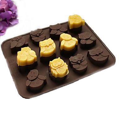 Ferramentas bakeware Silicone Faça Você Mesmo Aniversário Gadget de Cozinha Criativa 3D para Candy Chocolate Biscoito Bolo Moldes de bolos
