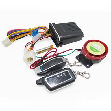 motorsykkel scooter 2-veis anti-tyveri alarm speaker 125db sikkerhetssystem fjernkontroll vibrasjon sensor alarm