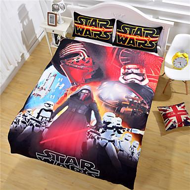 Queue Bedding Set Vivid Printing Bed Sheet Boys Bedroom Gift Duvet Cover Twin Full Queen