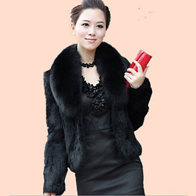 Long Sleeves Faux Fur Wedding Fur Coats Wedding  Wraps With Feathers / Fur Shrugs