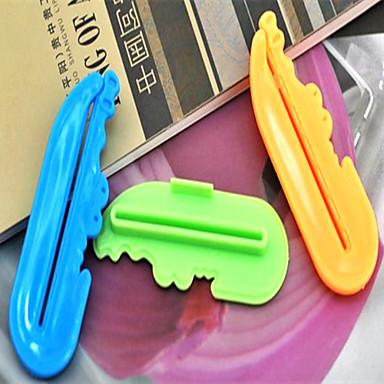 curtoon flerbruks tannkrem klemmer-tilfeldig farge