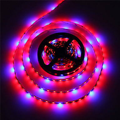 1-pakning morsen® hydroponic systemer førte planten vokse lys vanntett LED vokse lys stripe 300leds fulle spekter vokse boks