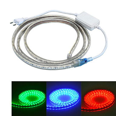 60 LEDs RGB Waterproof Suitable for Vehicles AC110 AC220 AC 110V AC 220V V