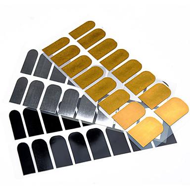 1pcs 3D Negle Stickers Negle Smykker Neglekunst Manikyr pedikyr Punk / Mote Daglig / Nail Smykker / 3D Nail Stickers / Metall