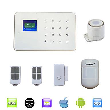 433 MHz Vezeték nélküli billentyűzet / SMS / Telefon 433 MHz GSM Tanítható kód