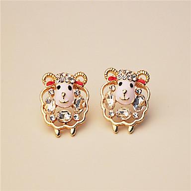 Women's Stud Earrings Cute Style Rhinestone Alloy Jewelry For Wedding Party Casual