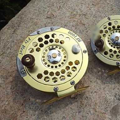 Ice Fishing Reels 5.2:1 Gear Ratio+3 Ball Bearings Right-handed Sea Fishing Fly Fishing Ice Fishing Freshwater Fishing Trolling & Boat